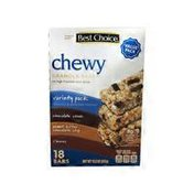 Best Choice Chewy Granola Bars Variety Pack