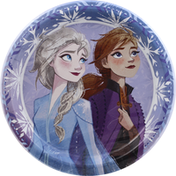 Unique Plates, Disney Frozen II, 8-5/8 Inch
