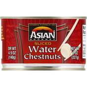 ASIAN GOURMET Water Chestnuts, Sliced