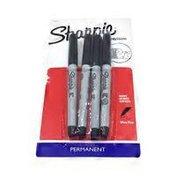 Sharpie Permanent Markers, Ultra Fine, Black