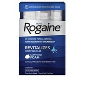 ROGAINE Men's 5% Minoxidil Topical Foam