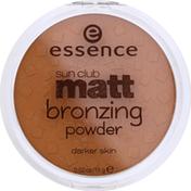 Essence Bronzing Powder, Darker Skin, Sunny 02
