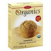 European Gourmet Bakery Muffin Mix, Cornmeal, Organics, Box