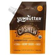 Yumbutter Organic Superfood Cashew Butter