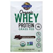 Garden of Life Whey Protein, Grass Fed, Chocolate Cacao
