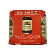 Rekorderlig Premium Strawberry-lime Hard Cider