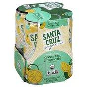Santa Cruz Carbonated Beverage, Mint Infused Green Tea Lemonade