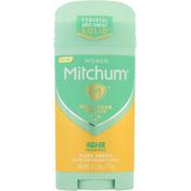 Mitchum Antiperspirant & Deodorant, Pure Fresh, Women, Invisible Solid