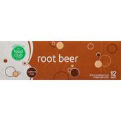 Food Club Root Beer, Caffeine Free, 12 Pack