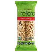 Crunchy Rollers Rice Rollers, Crunchy, Organic, Strawberry