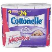 Cottonelle Ultra Bath Tissue MR 9-Pack White 306