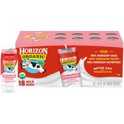 Horizon Organic 1% Lowfat UHT Strawberry Milk