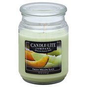 Candle Lite Candle, Fresh Melon Slice