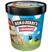 Ben & Jerry's Ice Cream Strawberry Cheesecake
