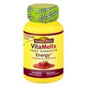 Nature Made VitaMelts Fast Dissolve Energy Vitamin B12 1500 mcg - 130 CT