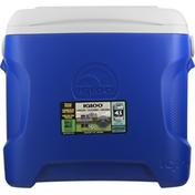 Igloo Cooler, Contour, Blue, 30 Quart