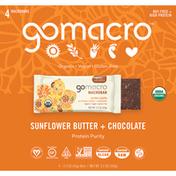 GoMacro Macrobars, Sunflower Butter + Chocolate