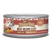 Merrick Purrfect Bistro Garlic Beef & Vegetable Recipe Cat Food