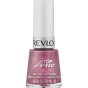 Revlon Nail Enamel, Fast Dry, Orchid 555