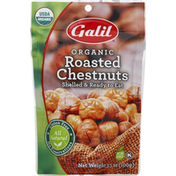 Galil Chestnuts, Organic, Roasted