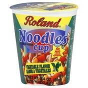 Roland Noodles Cup, Vegetable Flavor