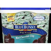 Blue Bunny Ice Cream, Mint Chocolate Chip