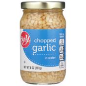Big Y Chopped Garlic In Water