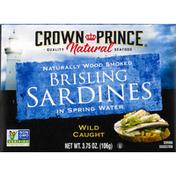 Crown Prince Sardines, in Spring Water