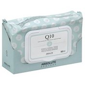 Absolute New York Cleansing Tissues, Makeup, Q10