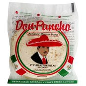 Don Pancho Flour Tortillas, Gorditas, Fajita Style, Bag