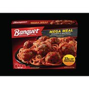Banquet Spaghetti And Meatballs Mega Meal
