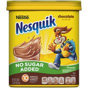 Nestle Nesquik No Sugar Added Chocolate Powder