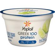 Yoplait Greek 100 Protein Key Lime Yogurt