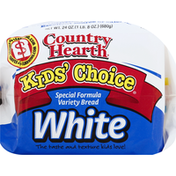Country Hearth Bread, Variety, White, Special Formula