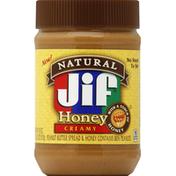 Jif Peanut Butter Spread, Honey, Creamy