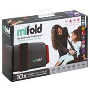 Mifold Booster Seat, Grab-and-Go Booster, Slate Grey