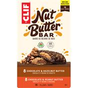 CLIF BAR Bars, Chocolate & Hazelnut Butter/Chocolate & Peanut Butter