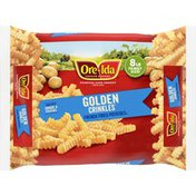 Ore-Ida Golden Crinkles French Fries Fried Frozen Potatoes Family Size