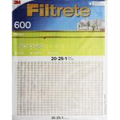3M Air Filter, Electrostatic, Pollen 600