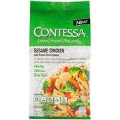 Contessa Sesame Chicken with Brown Rice & Quinoa Entree