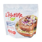 Lightlife Veggie Burgers Mellow Portobello Mushroom Meat Free - 4 CT