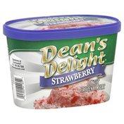 Dean's Frozen Yogurt, Lowfat, Strawberry