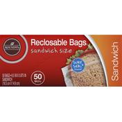 Roundy's Sandwich Bags, Reclosable