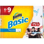 Bounty Basic Select-A-Size Star Wars Print Paper Towels