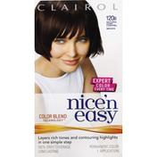 Nice 'n Easy Permanent Color, Natural Dark Caramel Brown 120B