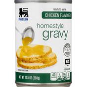 Food Lion Gravy, Chicken Flavored, Homestyle