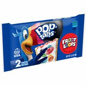 Kellogg's Pop-Tarts Toaster Pastries, Breakfast Foods, Baked in the USA, Frosted Froot Loops