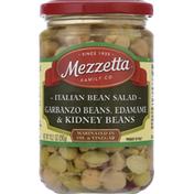 Mezzetta Italian Bean Salad, Garbanzo Beans, Edamame & Kidney Beans
