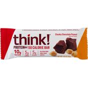 Think Thin Protein Bar, Chunky Chocolate Peanut