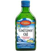 Carlson Labs Cod Liver Oil, Fruit Splash